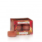 Yankee Candle Spiced Orange Tea Lights (6 branduren)