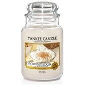 Yankee Candle Spiced White Cocoa Large Jar