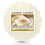 Yankee Candle Spiced White Cocoa Wax Tart