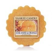Yankee Candle Star Anise & Orange Wax Tart