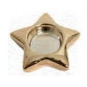 Yankee Candle Star Gold Tea Light Holder