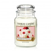 Yankee Candle Strawberry Buttercream Geurkaars Large Jar Candle