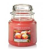 Yankee Candle Summer Peach Geurkaars Small Jar Candle (40 branduren)