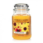 Yankee Candle Sunflower Geurkaars Large Jar Candle (150 branduren)