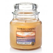 Yankee Candle Sunset Breeze Geurkaars Medium Jar Candle (90 branduren)