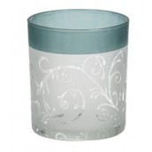 Yankee Candle Teal Vine Votive Holder