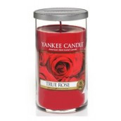 Yankee Candle True Rose Geurkaars Medium Pillar