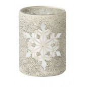 Yankee Candle Twinkling Snowflage Jar Holder
