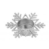 Yankee Candle Twinkling Snowflake Tea Light Holder
