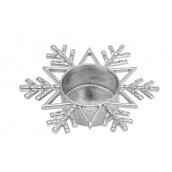 Yankee Candle Twinkling Snowflake Tea Light Holder