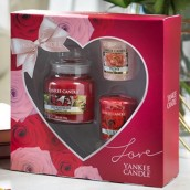 Yankee Candle Valentine's Day Heart Votive Gift Set