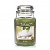 Yankee Candle Vanilla Lime Geurkaars Large Jar Candle (150 branduren)