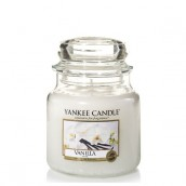 Yankee Candle Vanilla Geurkaars Medium Jar Candle (90 branduren)