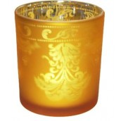 Yankee Candle Warm Glow Votive Holder Gold