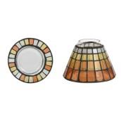 Yankee Candle Warm Summer Night Mosaic Small Shade and Tray