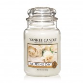 Yankee Candle Wedding Day Geurkaars Large Jar Candle (150 branduren)
