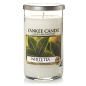 Yankee Candle White Tea Geurkaars Medium Pillar