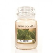 Yankee Candle White Tea Geurkaars Large Jar Candle (150 branduren)