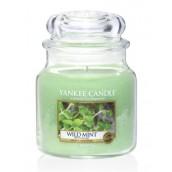 Yankee Candle Wild Mint Medium Jar