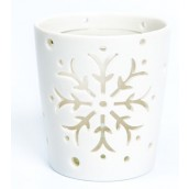 Yankee Candle Winter Flurries Bloom Votive Holder
