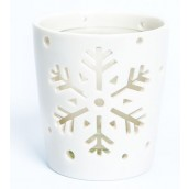 Yankee Candle Winter Flurries Stems Votive Holder