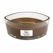 WoodWick Amber & Incense Ellipse Hearthwick Jar Candle