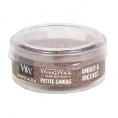 WoodWick Amber & Incense Petite Candle
