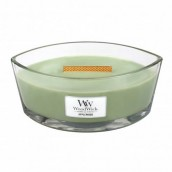 WoodWick Applewood Ellipse Hearthwick Jar Candle