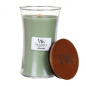 WoodWick Applewood Large Jar Candle