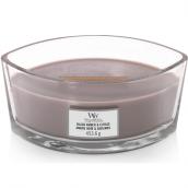WoodWick Black Amber & Citrus Hearthwick Jar Candle