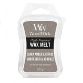 WoodWick Black Amber & Citrus Wax Melt