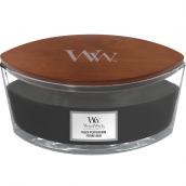 WoodWick Black Peppercorn Ellipse Hearthwick Jar Candle