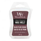 WoodWick Black Plum Cognac Wax Melt