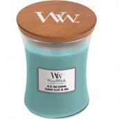 WoodWick Blue Java Banana Medium Jar Candle