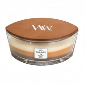 WoodWick Café Sweets Trilogy Ellipse Hearthwick Jar Candle