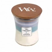 WoodWick Calming Retreat Trilogy Medium Jar Candle