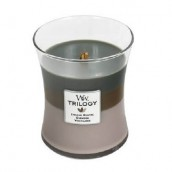 WoodWick Cozy Cabin Trilogy Medium Jar Candle