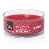 WoodWick Currant Petite Candle