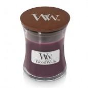 WoodWick Dark Poppy Mini Jar Candle