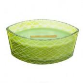WoodWick Apple Basket Etched Ellipse Hearthwick Jar Candle