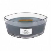 WoodWick Evening Onyx Ellipse Hearthwick Jar Candle