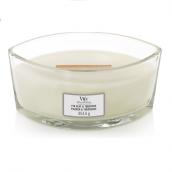 WoodWick Fig Leaf & Tuberose Ellipse Hearthwick Jar Candle