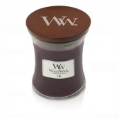 WoodWick Fig Medium Jar Candle