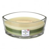 WoodWick Garden Oasis Trilogy Ellipse Hearthwick Candle