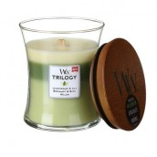 WoodWick Garden Oasis Trilogy Medium Jar Candle
