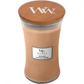 WoodWick Golden Milk Large Jar Candle