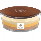 WoodWick Golden Treats Trilogy Ellipse Hearthwick Jar Candle