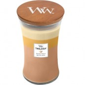 WoodWick Golden Treats Large Jar Candle