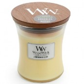 WoodWick Island Coconut Medium Jar Candle