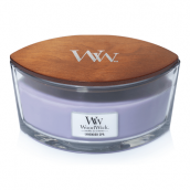 WoodWick Lavender Spa Ellipse Hearthwick Jar Candle